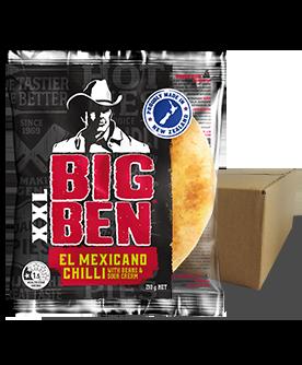 XXL EL Mexicano Chilli 210g 12 Pack
