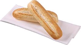 Medium Batard Sandwich Sub White 60 Pack