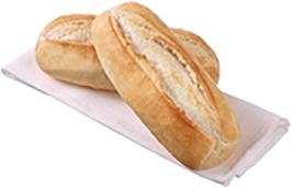 Large Sandwich Sub White 36 Pack – Par Bake