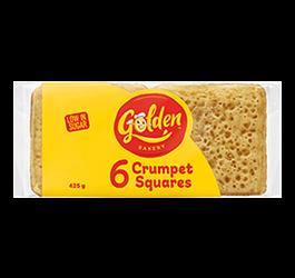 Crumpet Squares 6 Pack