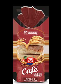 Apple and Cinnamon English Muffins