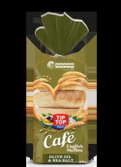 Olive Oil and Sea Salt English Muffins