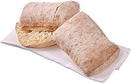 Rustic Ciabatta Lunch Roll 50 Pack